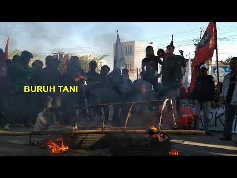 BURUH TANI - Mahasiswa (lyrics Video)