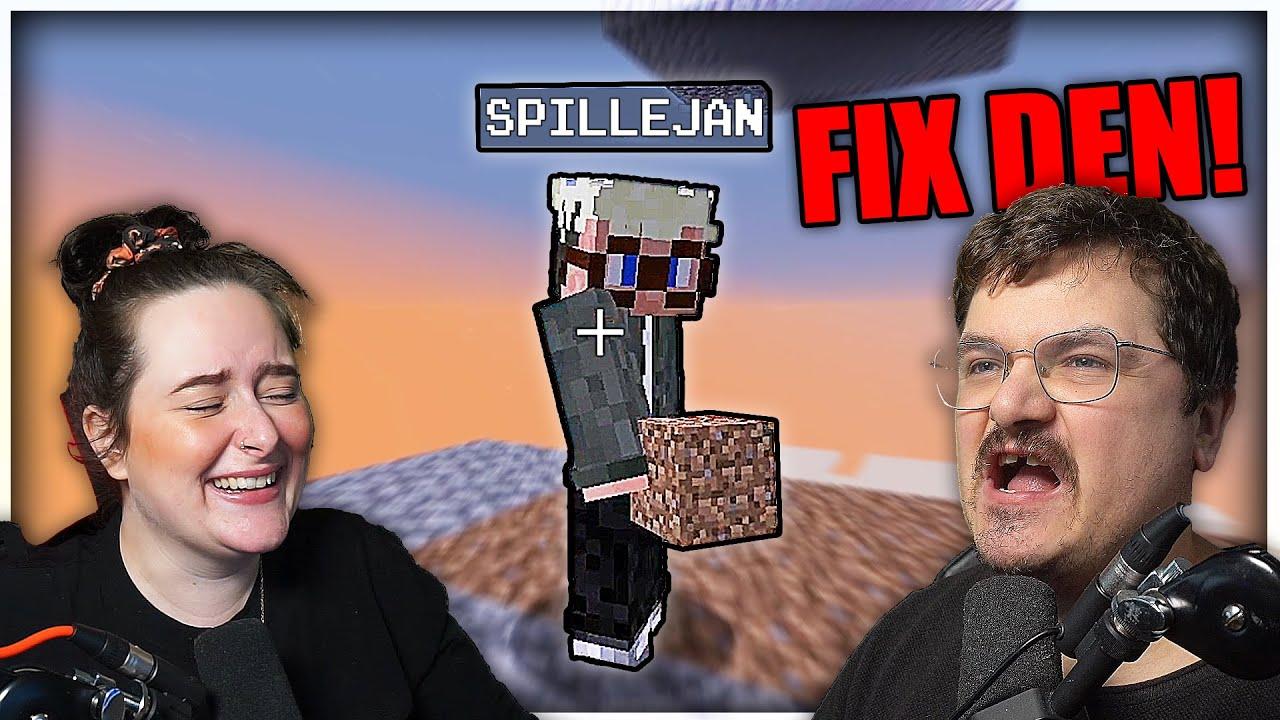 kan SpilleJan fikse Creeper Farmen? | Minecraft Ep. 41