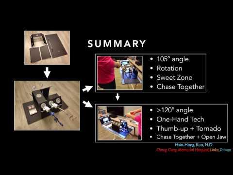 K-Box, A Real Ergonomic Laparoscopic Training Box/Simulator, (www.huaprac.com), KBox, kbox, K Box,