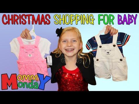 Christmas Caroling & Baby Shopping    Mommy Monday