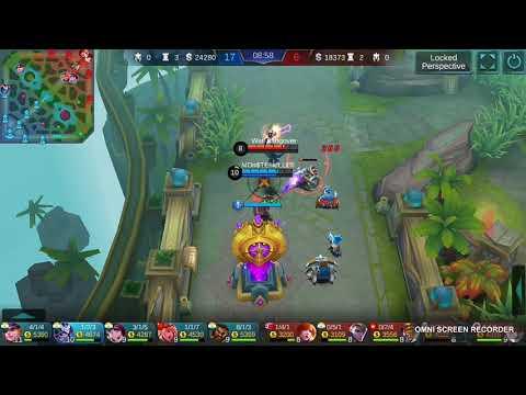 Hayabusa gameplay using Athena's shield instead of rose gold meteor