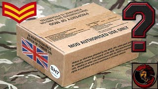 What's REALLY inside a British Army Ration Pack - NCO's
