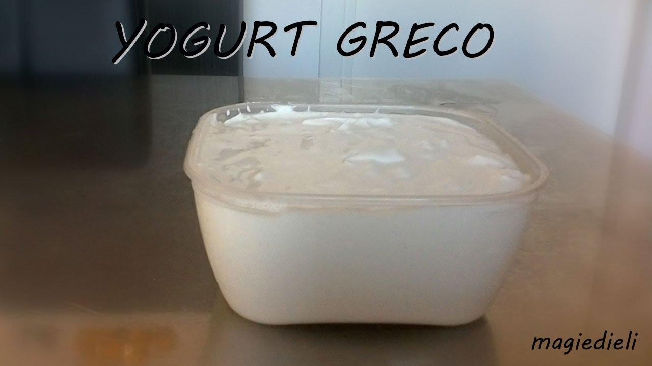 Ricetta Per Yogurt Greco Con Yogurtiera.Yogurt Greco Fatto In Casa Senza Yogurtiera Densissimo Anche In Inverno Youtube