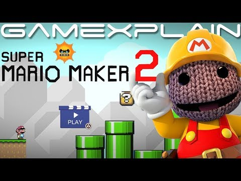 Super Mario Maker 2 Comes to PS4… Sort of