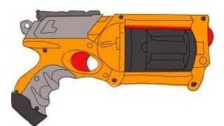 How to Draw a Nerf Gun