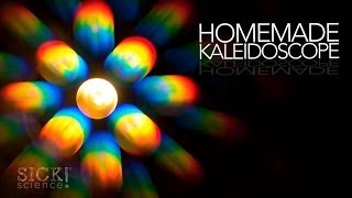 Homemade Kaleidoscope - Sick Science! #179