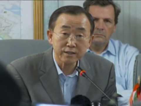 Secretary-General Ban Ki-moon in Haiti