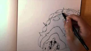 Ohmu Speed Drawing (High Quality)