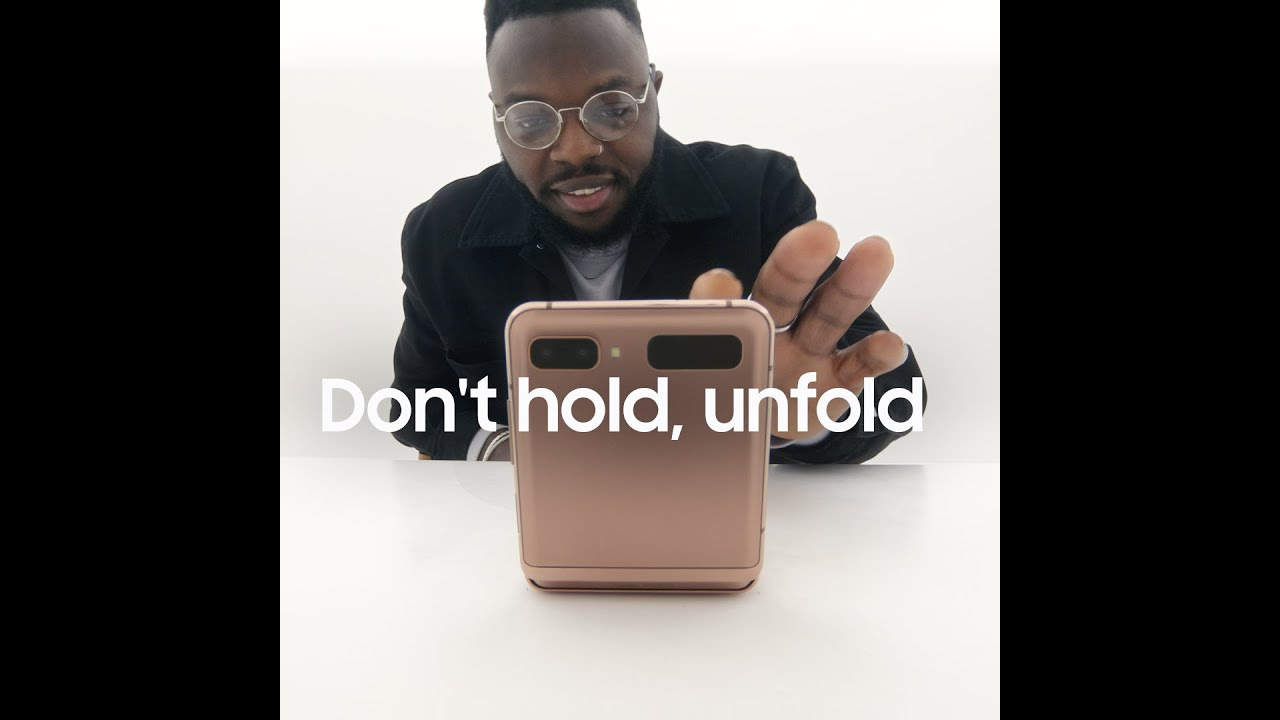 Galaxy Z Flip: วิดีโอคอลแบบแฮนด์ฟรี | Samsung