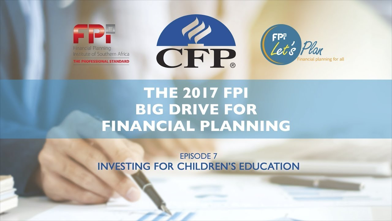 Ep 7: Investing for children's education