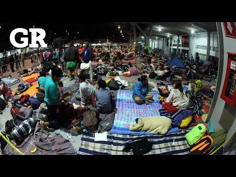 El paso de migrantes por Guadalajara