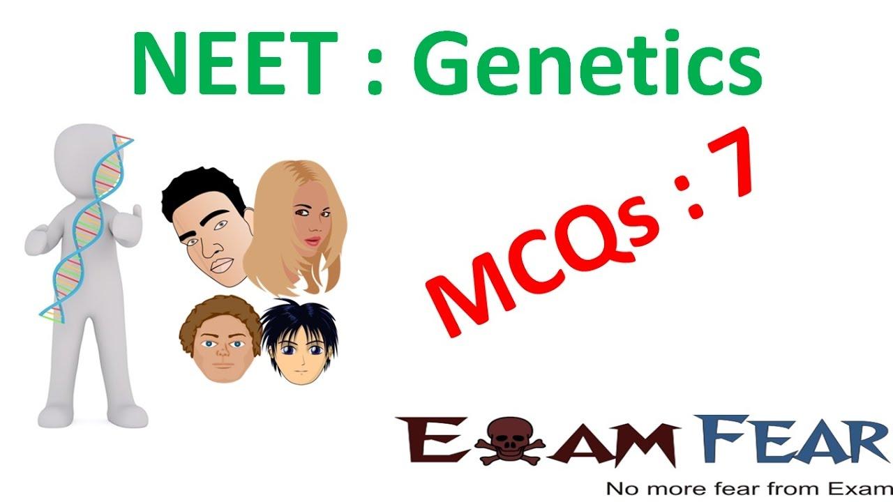 mcq biology genetics