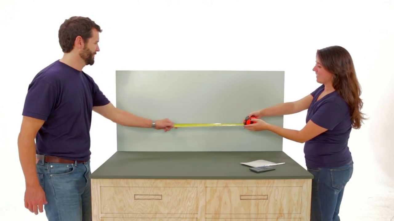 How To Measure For Kitchen Backsplash