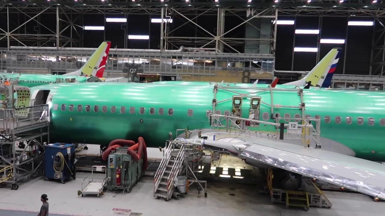 F U00e1brica De Los Boeing 737
