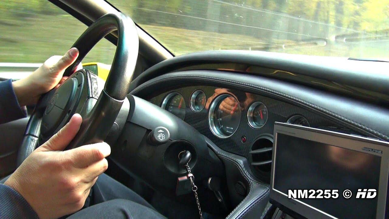 Ride In Lamborghini Diablo Vt 6 0 V12 Youtube