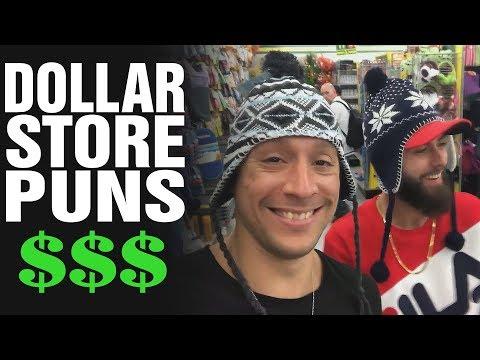 DOLLAR STORE PUNS!