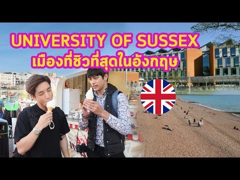 [WIN-Ed X Kayavine] University of Sussex in Brighton มหาวิทยาลัยดัง เมืองก็ดีเวอร์