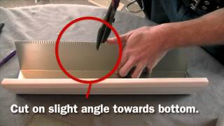 Eavestroughing & Gutters - How To Make an Outside Corner - True North Eavestroughing