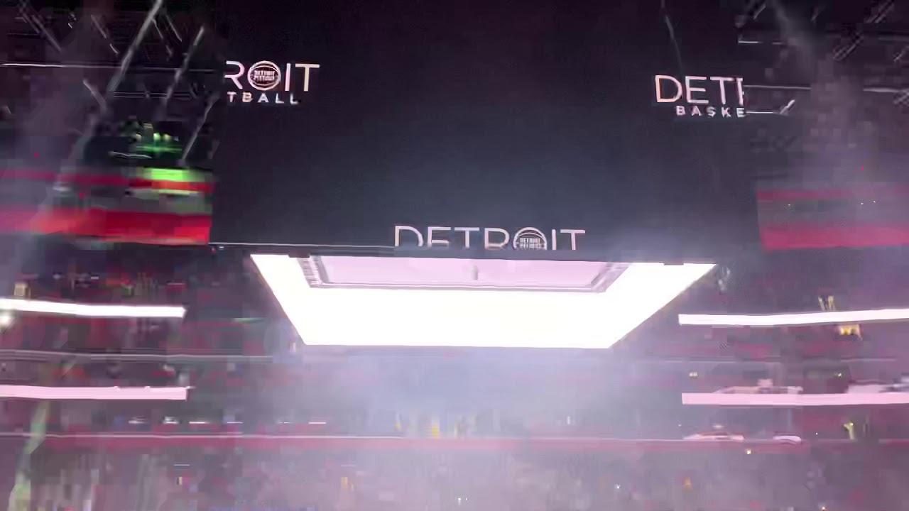 Detroit Pistons intro 2019 - YouTube