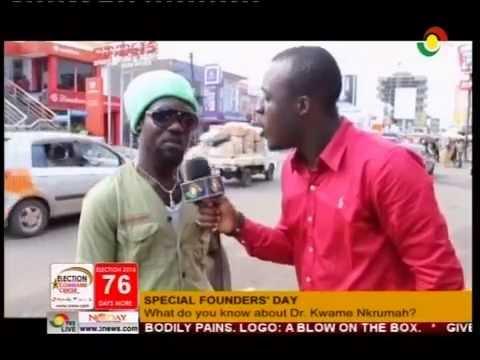 Meet Ghana's 'smartest' Rasta - 21/9/2016