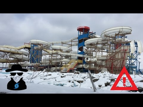 EXPLORING ABANDONED WATERPARK!!! (Wild Rapids Sylvan Lake)