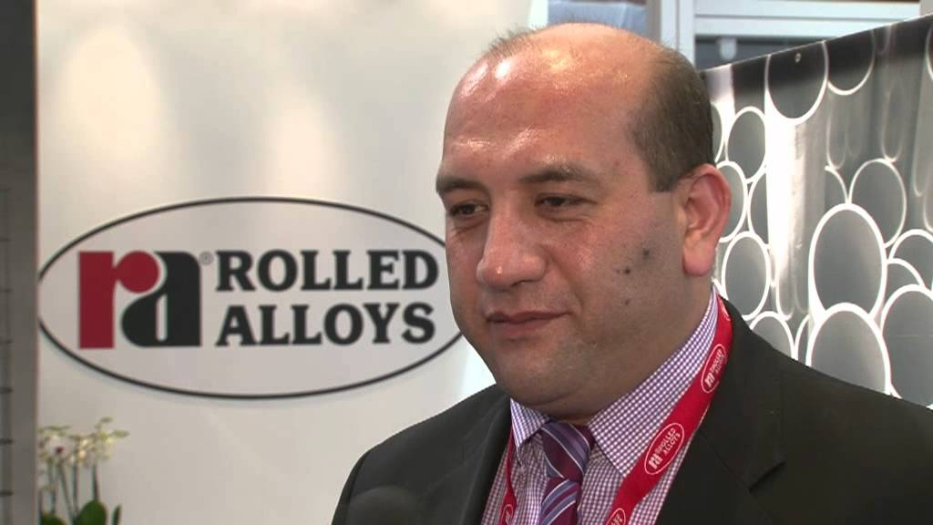 Rolled Alloys strong in Europe says Mr Gündar - YouTube