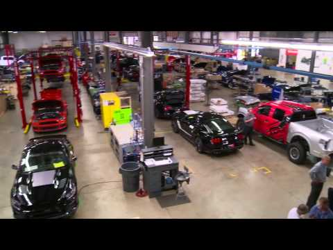 Roush Factory Tour with Indmar Marine Engines Wakeboarding and Waterski Magazine/