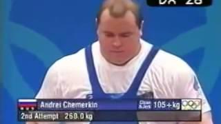 Российский штангист Андрей Чемеркин