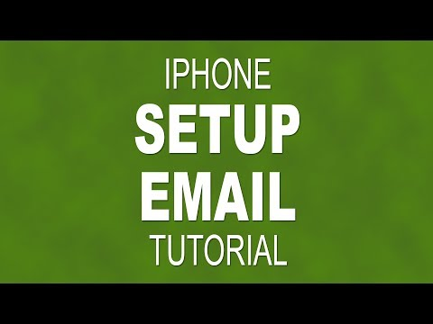 How to setup an email account on your iPhone
