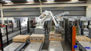 121 Robotic Palletiser - cases and trays by www.scottphs.com
