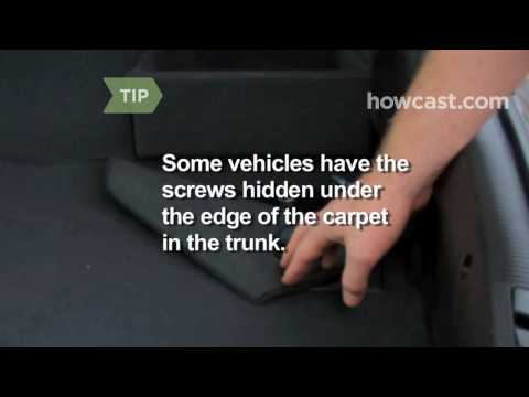 How to Replace a Brake Light
