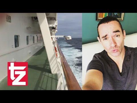 Video eines anderen Passagiers: Von diesem Deck stürzte Daniel Küblböck