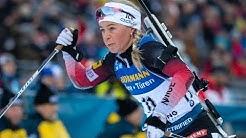 Biathlon Ergebnisse: Die Gesamtwertung und Disziplinwertungen der Damen