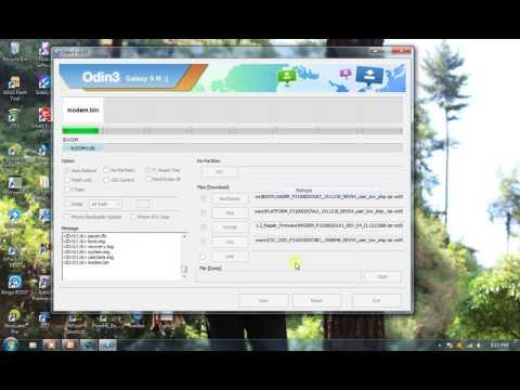 Flash Samsung P3100 Firmware Repaire Via Odin