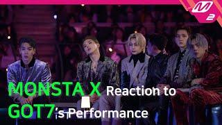 [Reaction Cam] MONSTA X(몬스타엑스) Reaction to GOT7(갓세븐) l 2019MAMA x M2
