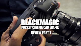 Blackmagic Pocket Cinema Camera 4k Review Autofocus Low Light Audio Tests Youtube