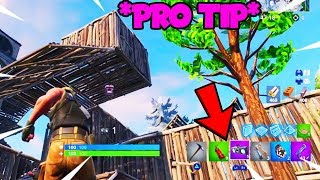 This Is A SECRET PRO TIP On Fortnite Shown To Me By My Twitch Chat...