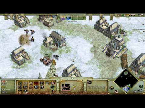 Age Of Mythology Titans - Odin's Tower [Titan Difficulty]