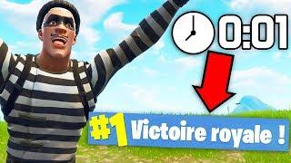 J'AI VOLÉ LE TOP 1 À LA DERNIÈRE SECONDE ! | Fortnite Battle Royale