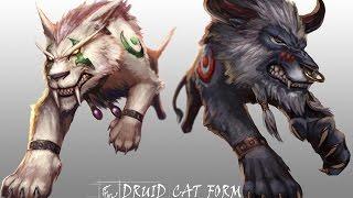 PvP гайд по друиду сила зверя (ферал) дренор  6.2.4