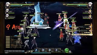 Naruto Online ~ GGN vs Black Dragon