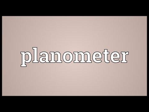 Header of planometer