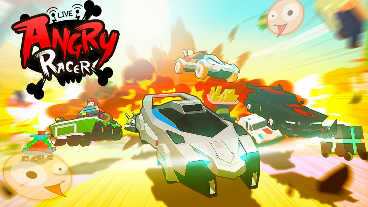 AngryRacer Live Android Gameplay u1d34u1d30