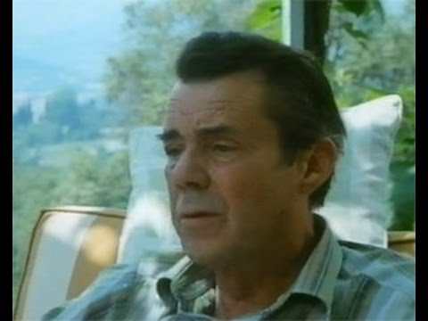 """Dirk Bogarde  Interview - """"above the title"""" - 1986"""