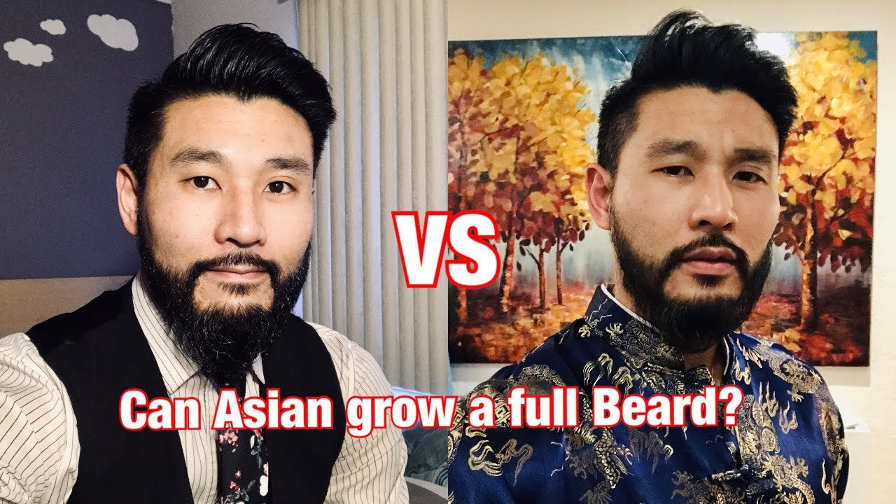 Man a how asian grow beard to 18 Trendy