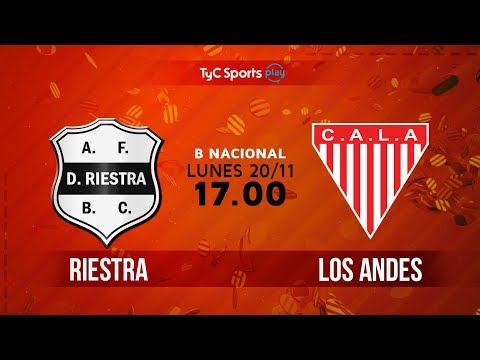 Primera B Nacional: Deportivo Riestra vs. Los Andes   #BNacionalenTyC