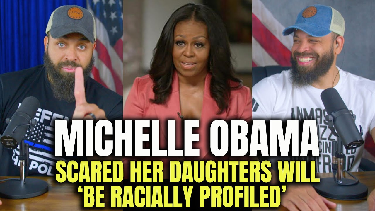 Michelle Obama Scared Her Daughters Will Be 'Racially Profiled'