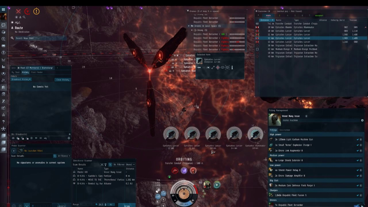 Vexor Abyssal Fit
