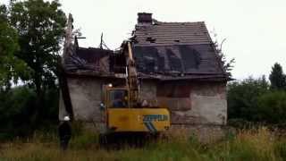 Wyburzanie budynków Kraków
