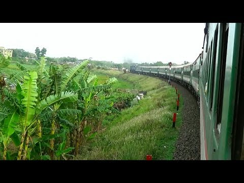 Rail Route of Sundarban Express Train of Bangladesh Railways / Kamlapur - Chuadanga